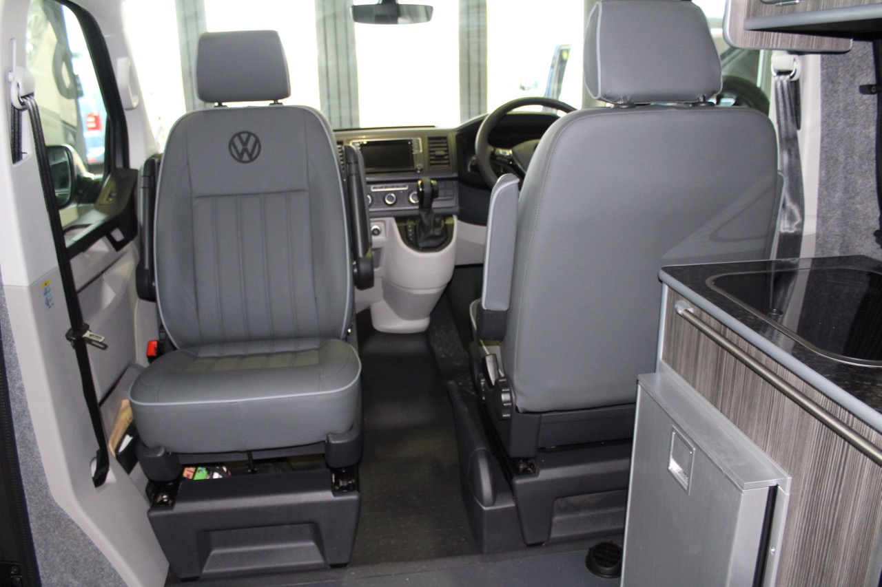 Grey Leather upholstery