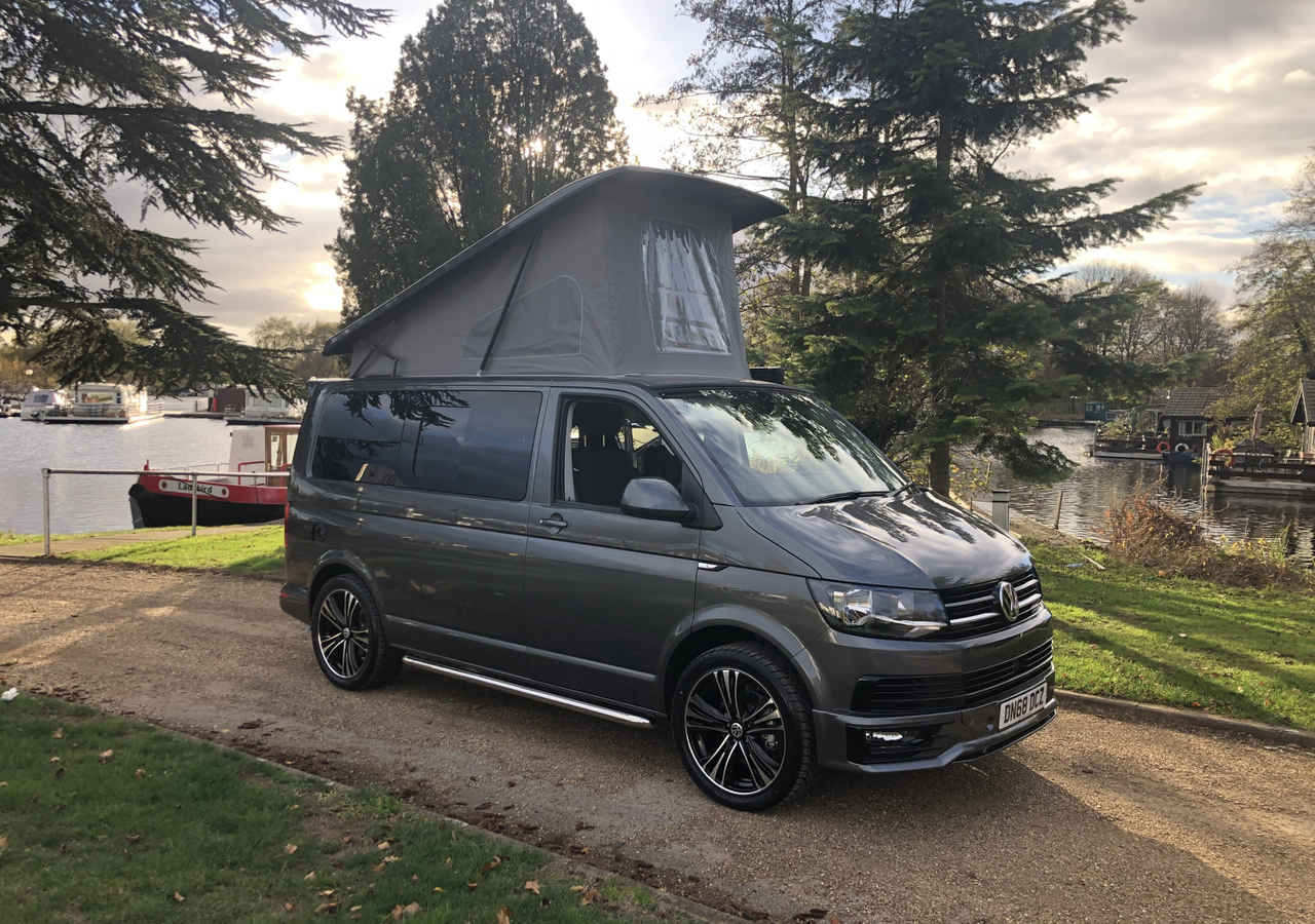 Order For 2019 69 Plate 150ps Dsg Auto T6 Highline With Brand New Campervan Conversion Indium Grey